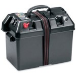 Marine battery case